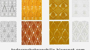 48 patrones de puntos crochet