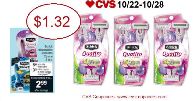 http://www.cvscouponers.com/2017/10/hot-schick-disposable-razor-packs-only.html