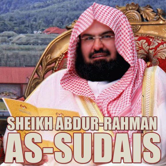 Abdurrahman As-Sudais: Imam Besar Masjidil Haram