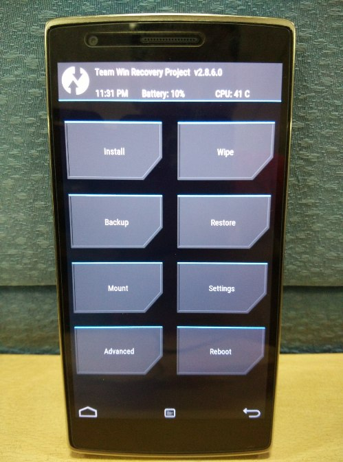 TECH HUNTER: HOW TO ROOT ONEPLUS ONE INSTALL TWRP RECOVERY UNLOCK