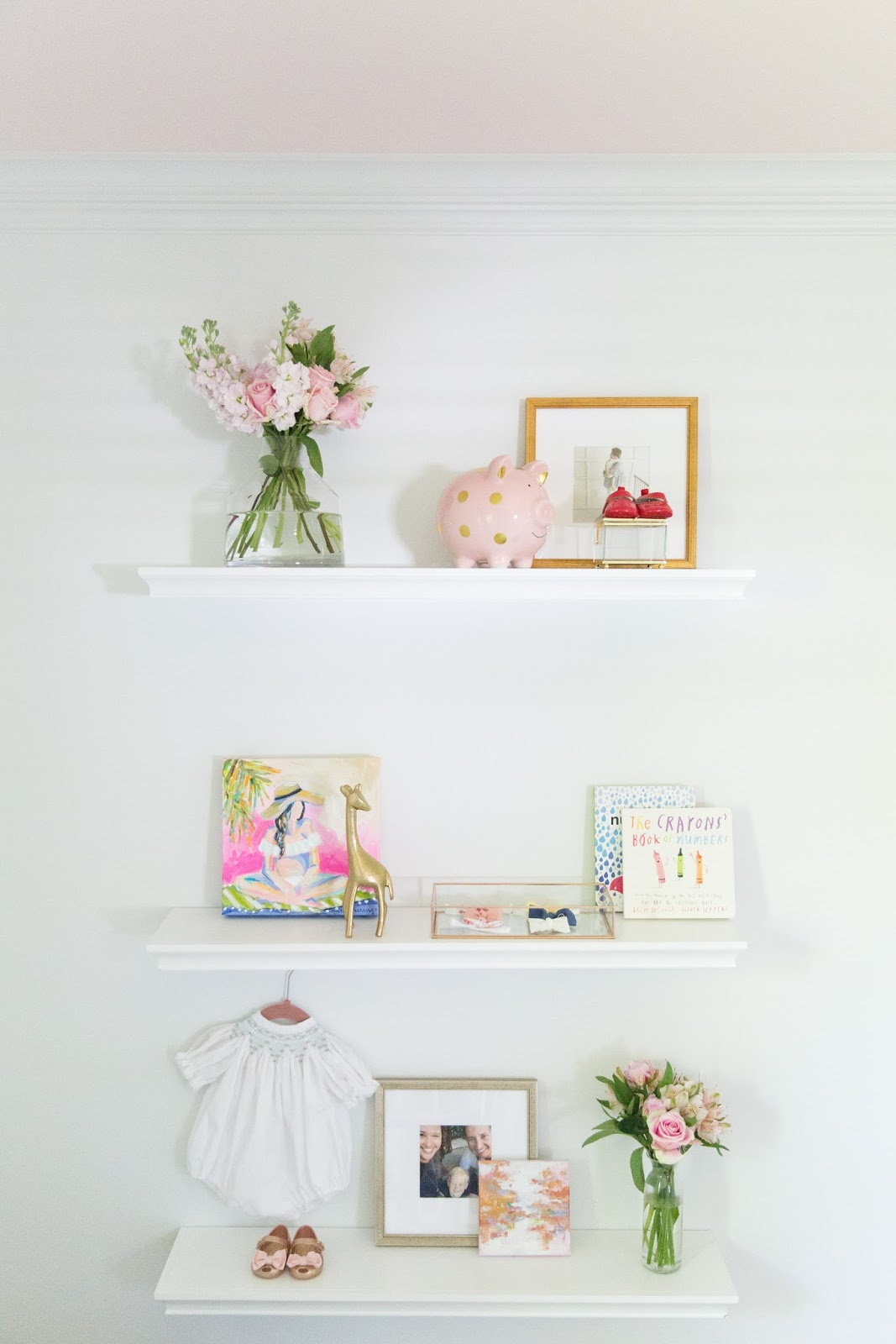 Bright, Delicate Baby Girl Nursery