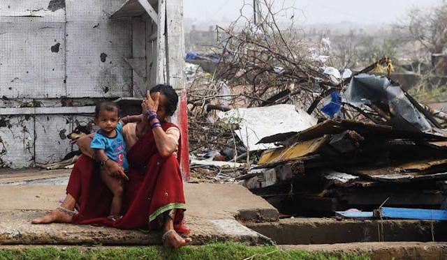 Cyclone+affected+Odisha