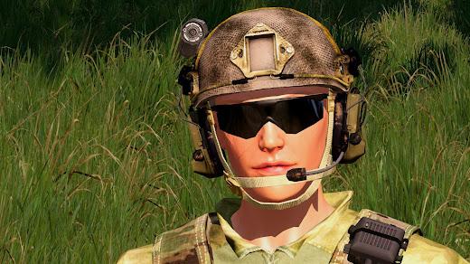 Arma3用女性兵士MOD