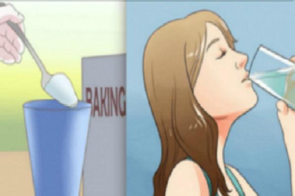 Ella bebido una taza de bicarbonato de sodio con agua todos los días. Después de un mes, su cuerpo estaba irreconocible!