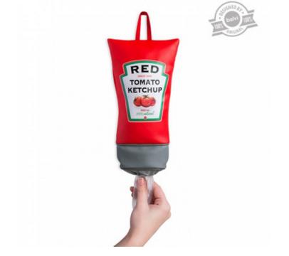 Regalo original y económico: Guarda bolsas de ketchup