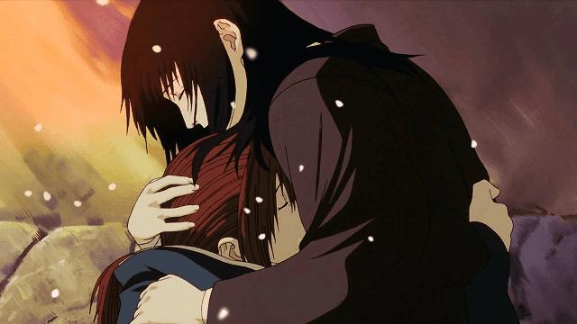 Kenshin mati karena penyakit parah