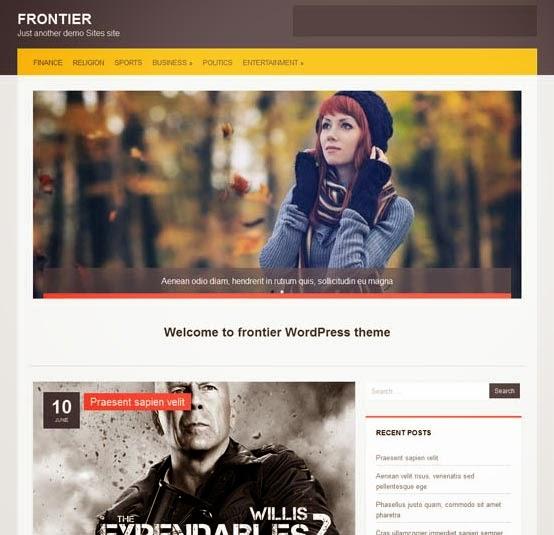 Frontier theme