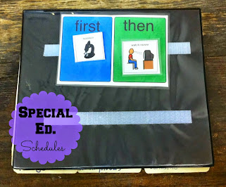 Schedules for Special Education Classrooms