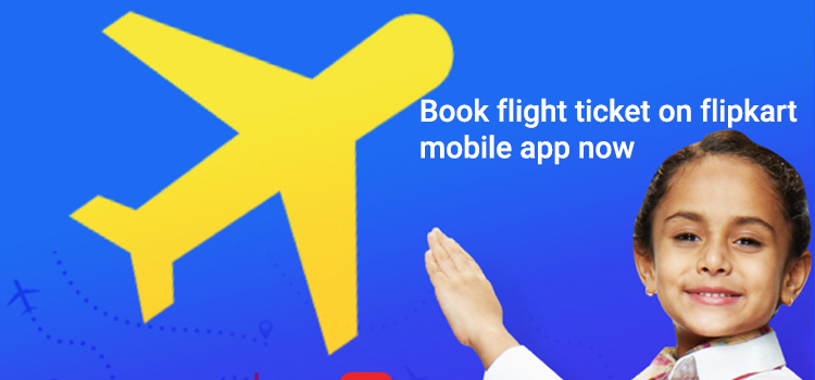 Book your flight ticket on Flipkart App