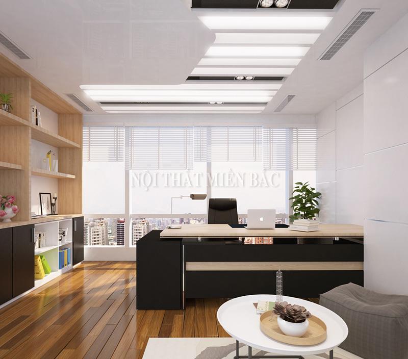 Thiết kế nội thất phòng giám đốc sang trọng với kế hoạch chuyên nghiệp