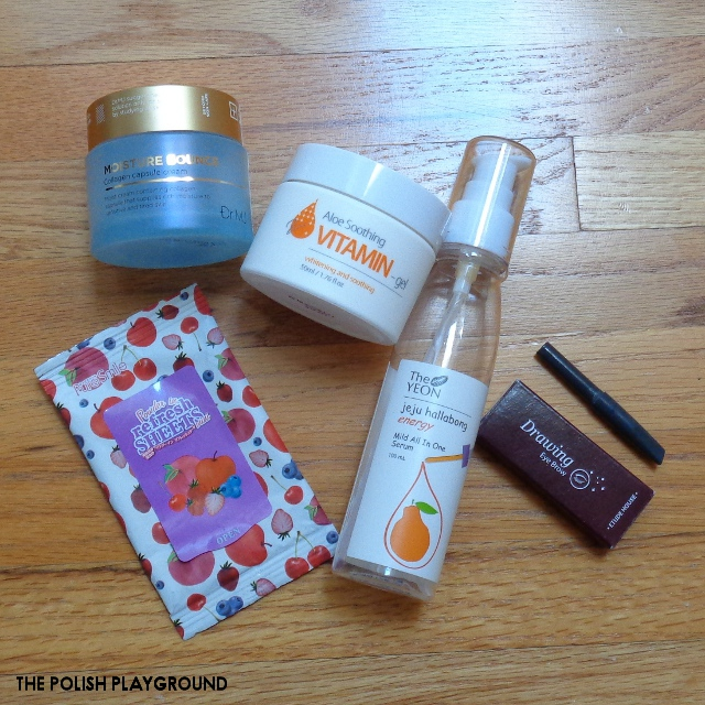 August 2017 Product Empties