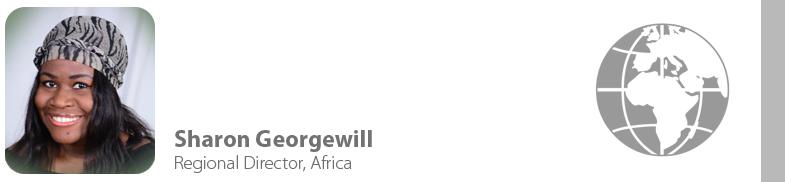 Sharon Georgewill, IYF Regional Director, Africa