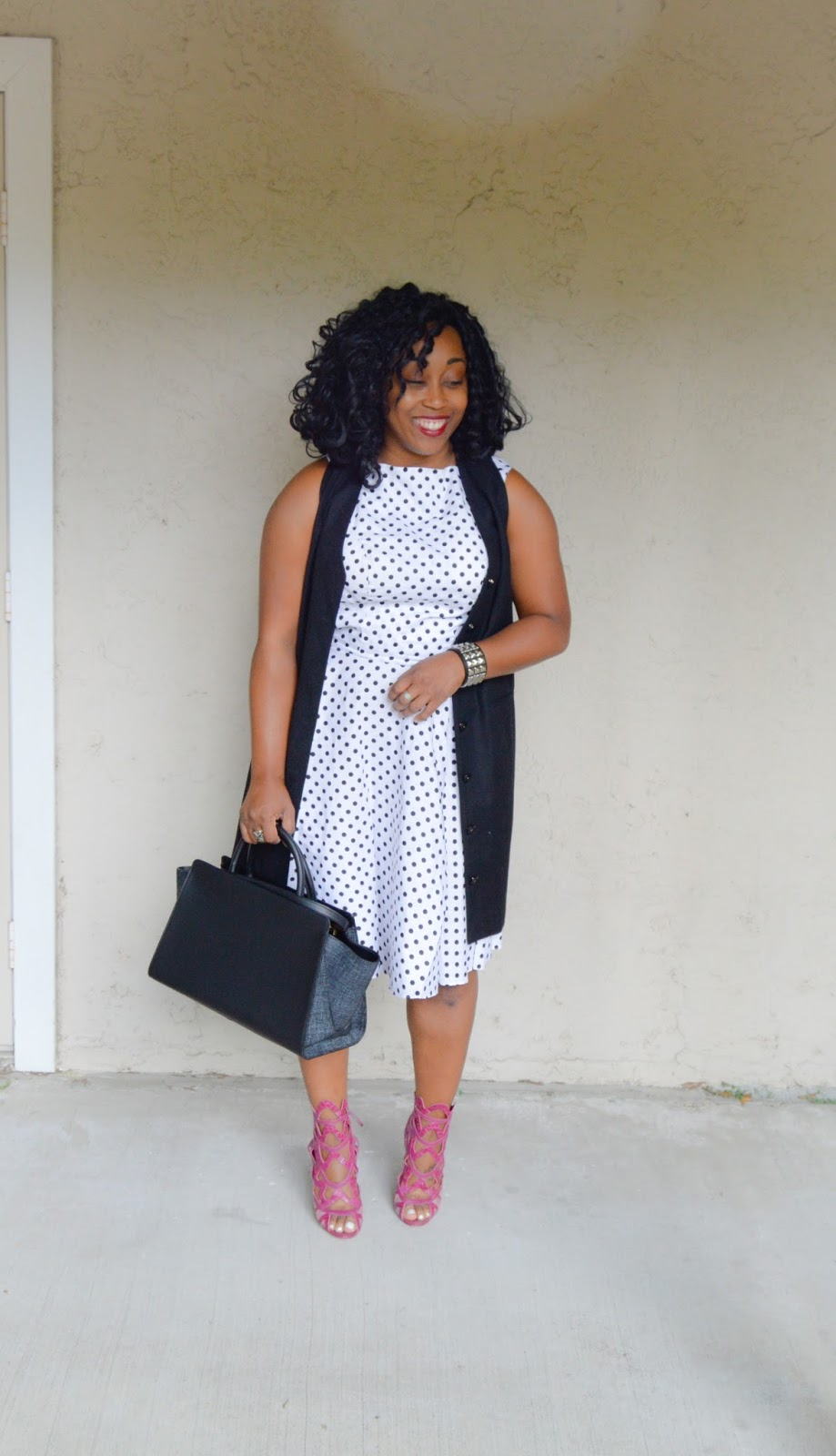 282da011b3f Outfit  Polka Dots and Triangles