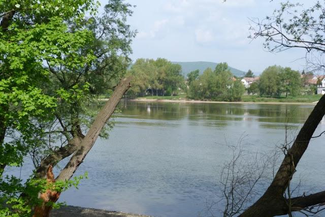 Langs de Donau in Hongarije