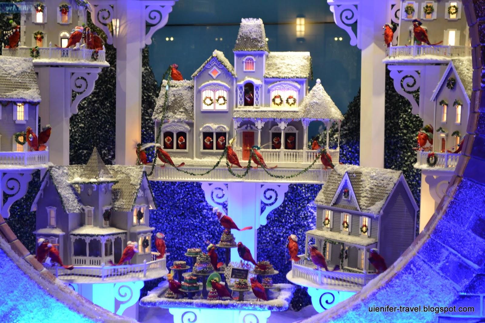 Рождественский Нью-Йорк 2014 - витрины Lord & Taylor