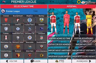 Download FTS Mod FIFA 19 The Journey UEFA Champions League 2019