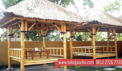 Perbedaan Gazebo dan Saung