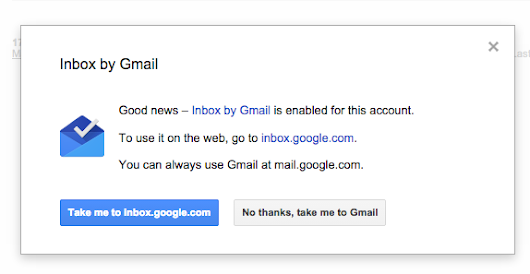 Gmail Links to Google Inbox