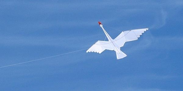 """Cerita fabel """"Layang-layang dan Angsa"""" dialihbahasakan dan diceritakan ulang oleh ceritanakecil.com dari fabel Aesop berjudul """"The Kite and the Swan""""."""