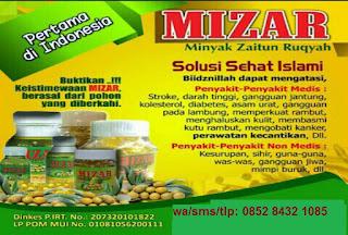 Khasiat kapsul/minyak zaitun Ruqyah untuk kesehatan obat penyakit-MIZAR