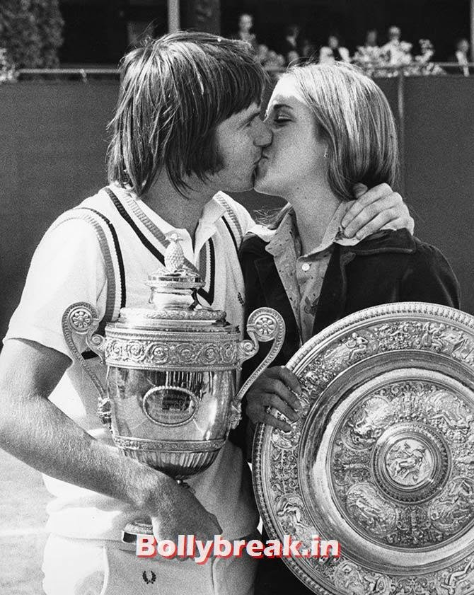 Jimmy Connors and Chris Evert, List of Sports star break-ups Pictures - Cricket, Tennis, Golf, Basketball
