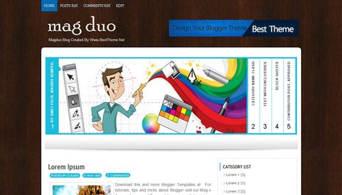 Download template blogspot keren.