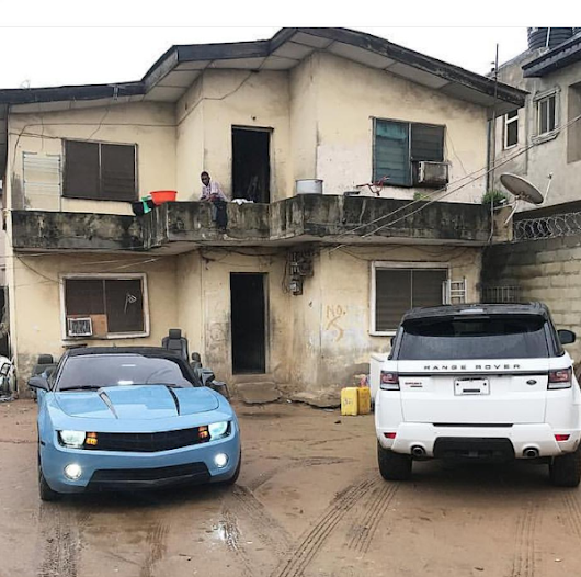 Viral Pictured Of Exotic Cars In An Outdated House