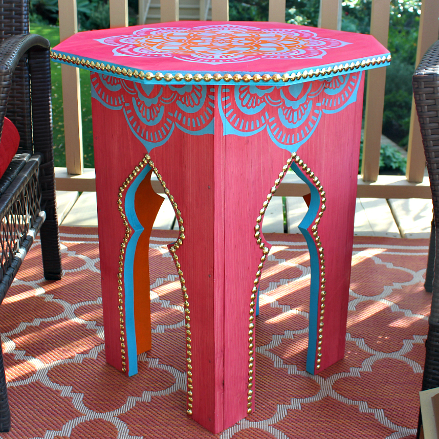 Outdoor Moroccan Furniture. Moroccan Side Tables Diy Outdoor Furniture