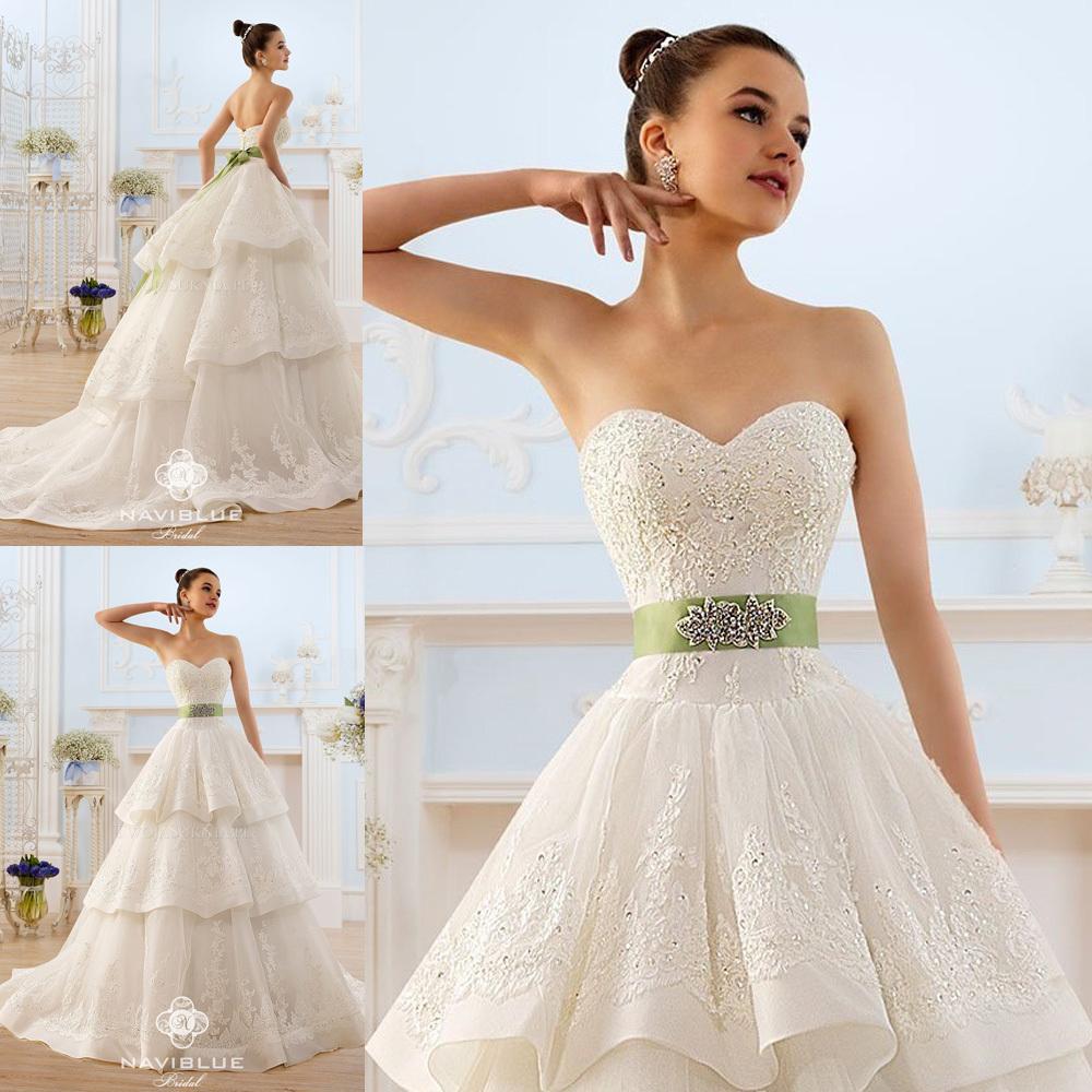 Vestidos de novia con cola de pato
