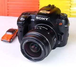 Jual Sony A560 + Kit Bekas