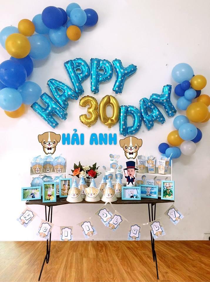 Bong trang tri day thang cho be o Nghia Tan