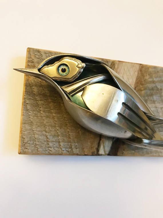 Esculturas de cucharas