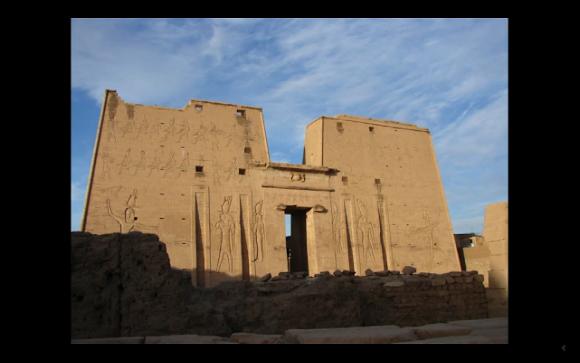荷魯斯神廟的外牆