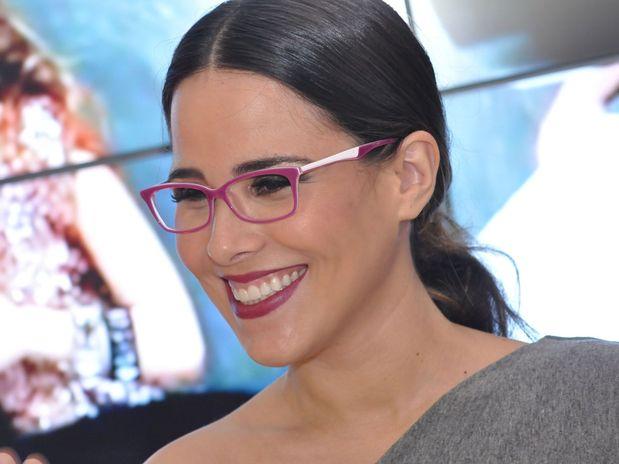 b5e0146d1 Ana Hickmann esteve no Expo Center Norte, em São Paulo, na Expo Abioptica,  na noite dessa quinta-feira (26). A apresentadora, usando um macacão ...