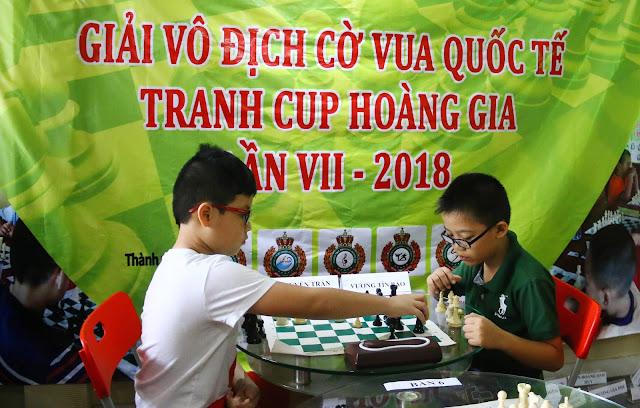 Rèn trí thông minh cho trẻ bằng cờ vua
