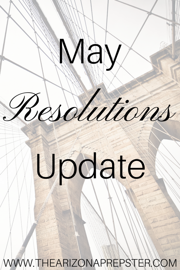 May Resolutions Update