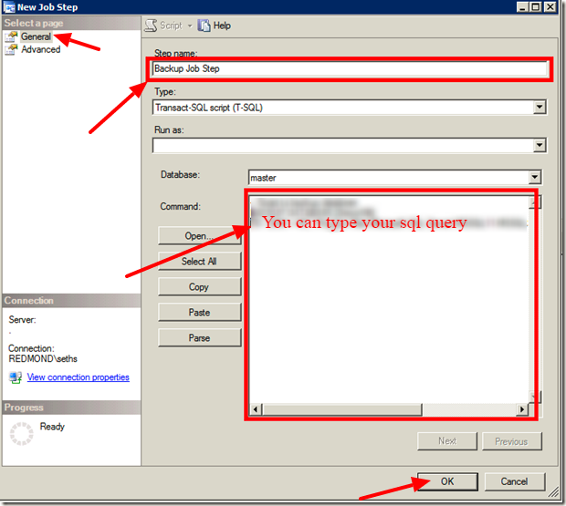 how to take sql server database backup automatically