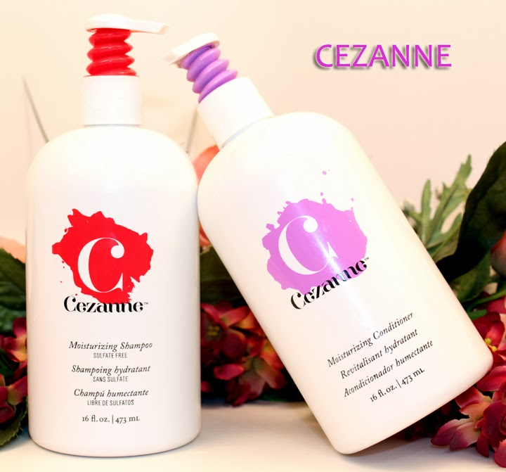 Cezanne Professional Hair Care Products