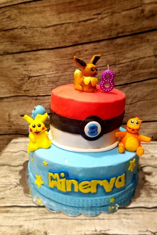 Surprising Yangyang Cooking Pokemon Cake Funny Birthday Cards Online Alyptdamsfinfo