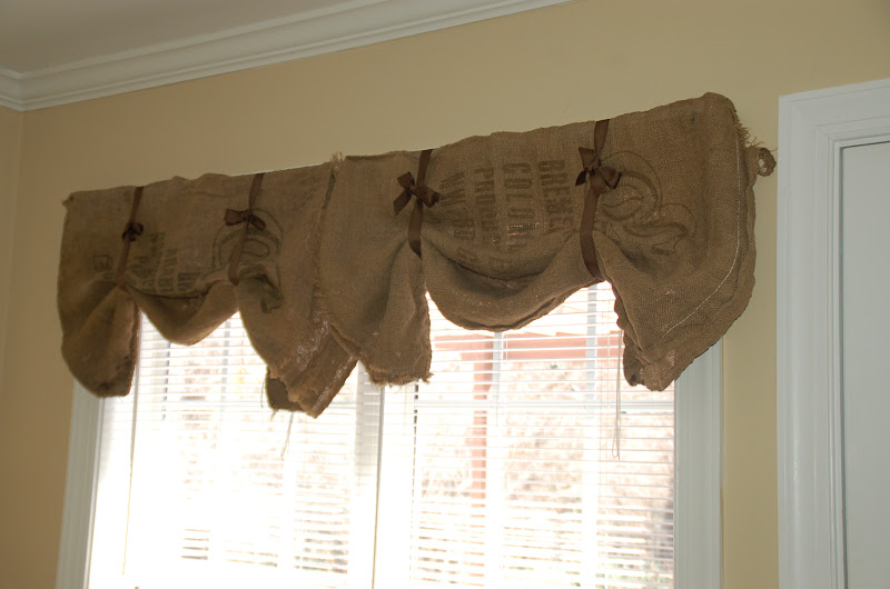 Burlap Sack Kitchen Curtains Curtain Menzilperde Net
