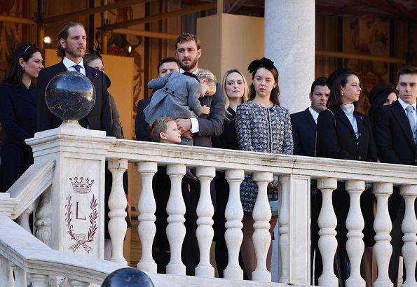 Princess Charlene, Princess Caroline, Princess Stephanie, Beatrice Borromeo Casiraghi, Tatiana Casiraghi, Camille Gottlieb, Pauline Ducruet