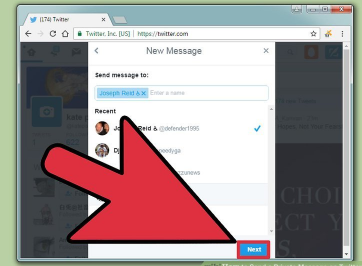 How to Send Private Message on Twitter
