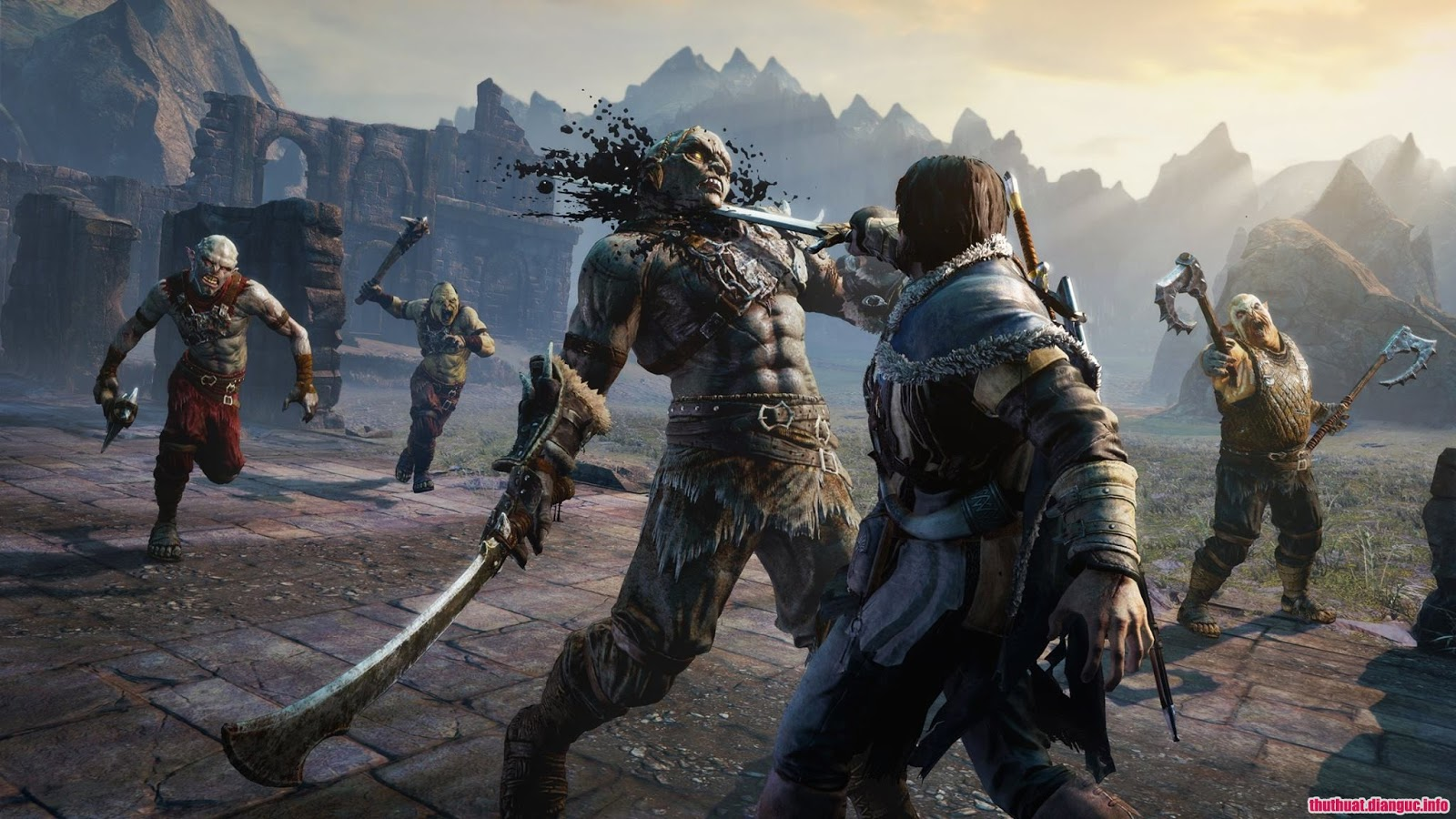 Game Middle Earth: Shadow of Mordor free download