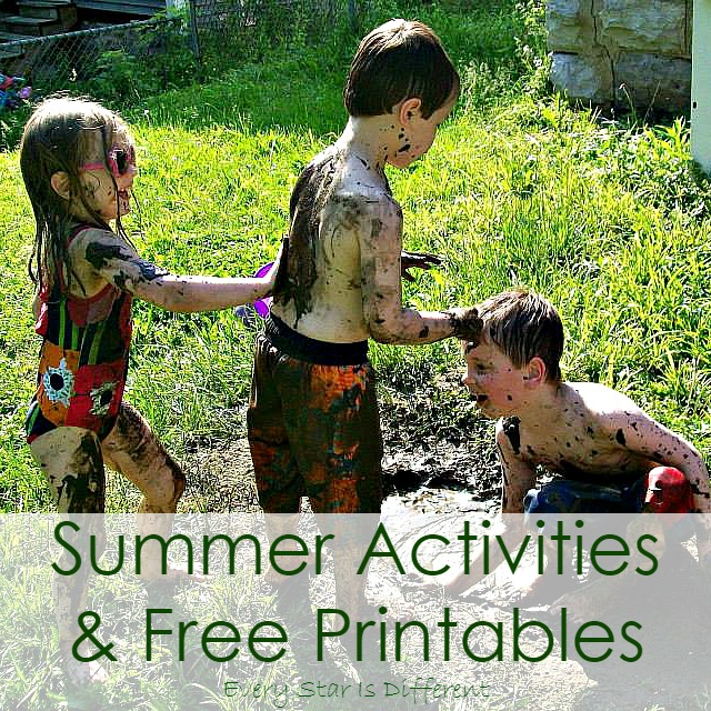 Summer Activities & Free Printables