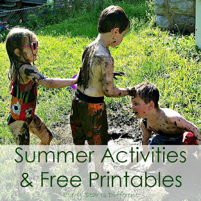 Summer Activities and Free Printables