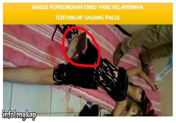 HOT!! Kelamin Enno Parinah, Ditusuk Cangkul Siswa SMP