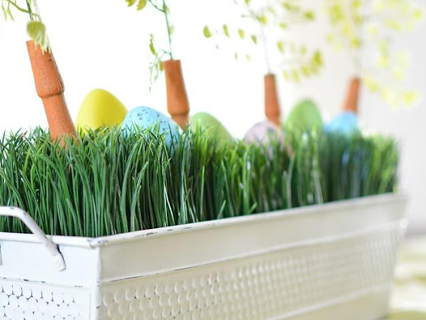 How To Upcycle A Whimsical Easter Centerpiece Box