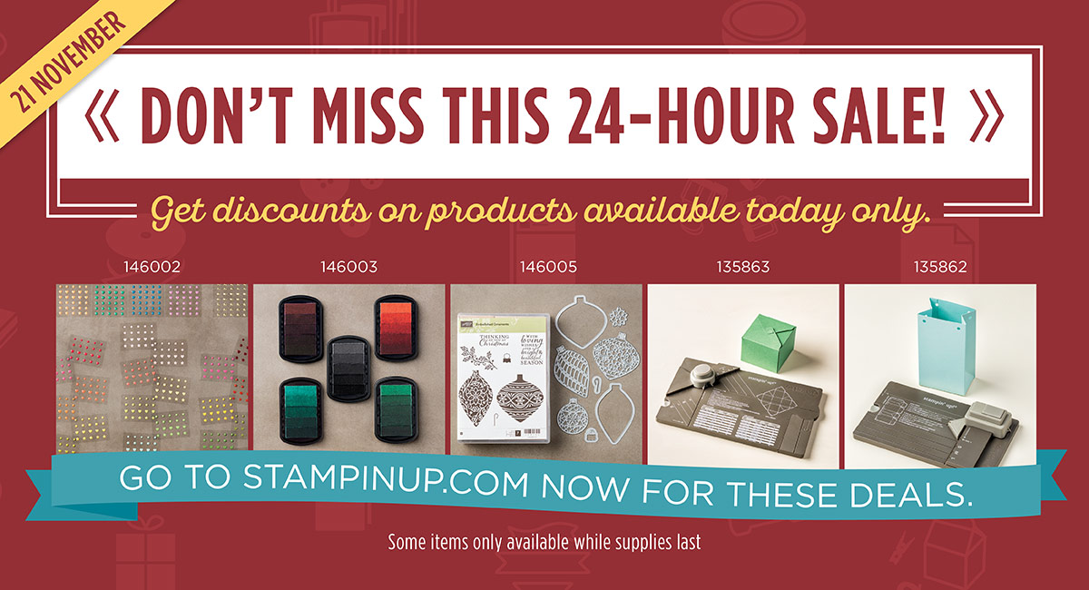 d699a522967bb Sally s Stamping Delights  Online Extravaganva 24 Hour Flash sale