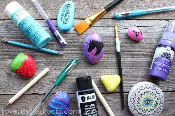 best paint and supplies for rock painting