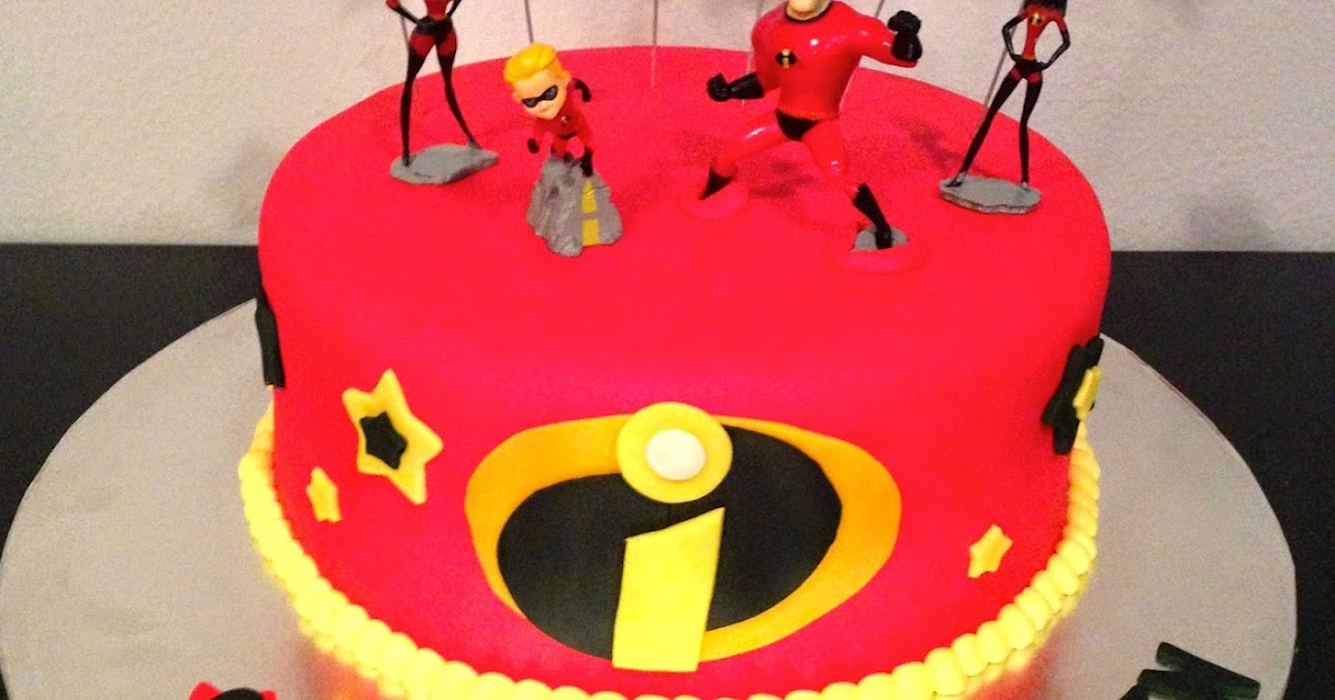 Jacqueline S Sweet Shop Incredibles Cake